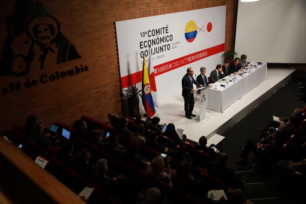 Décimo encuentro del Comité Económico Conjunto Colombia-Japón se realizó en Bogotá con el fin de profundizar los vínculos de comercio e inversión