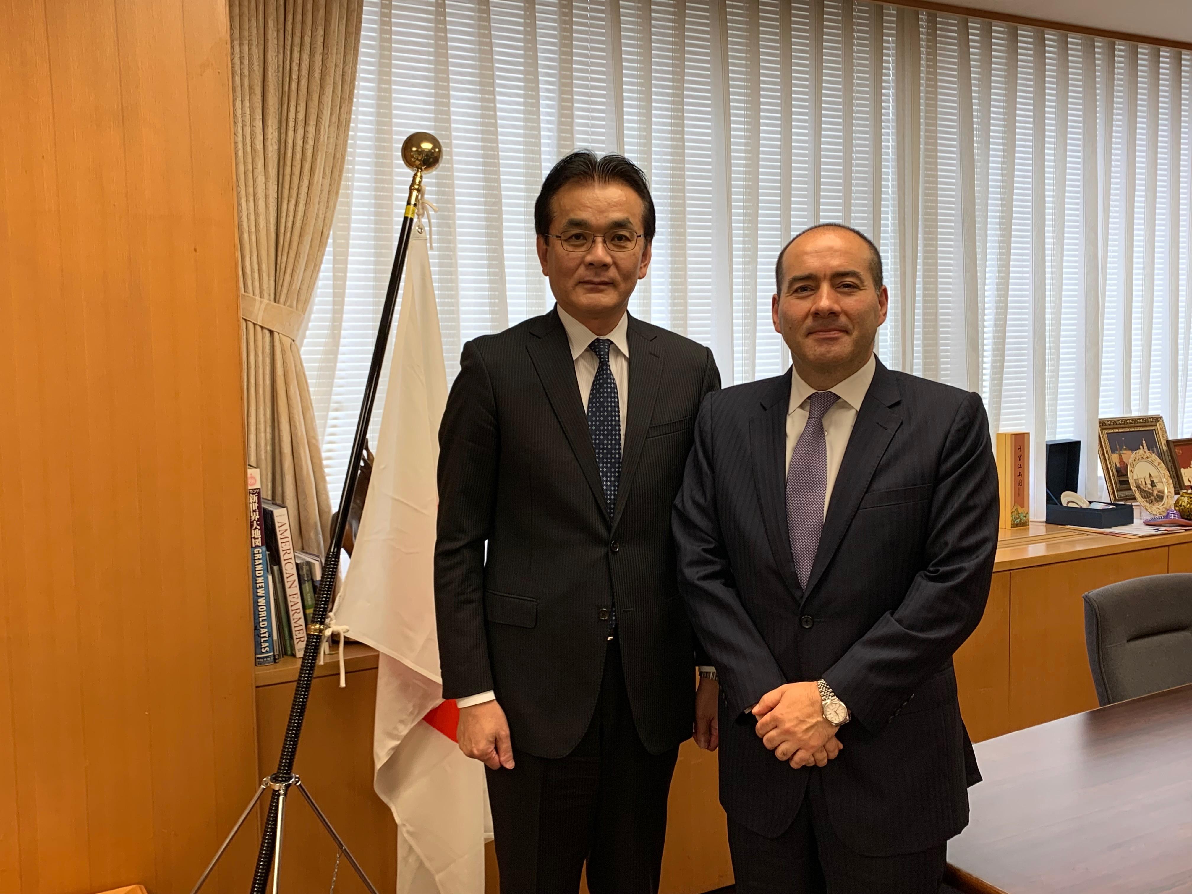 Embajador Santiago Pardo promuevió la agenda del sector agropecuario colombiano en Japón