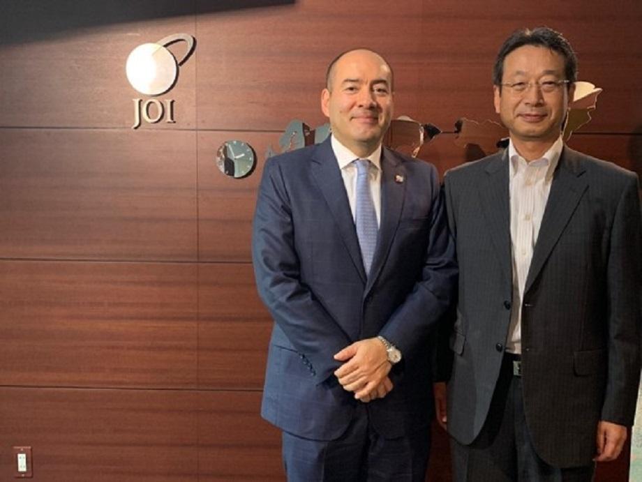 Embajador Santiago Pardo promueve la inversión japonesa en Colombia en encuentro con Presidente del Japan Institute for Overseas Investment (JOI)